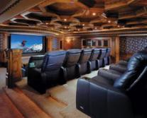 home theater installed by our electricians in Sunnyvale