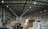 warehouse lights installed by our Sunnyvale electricians
